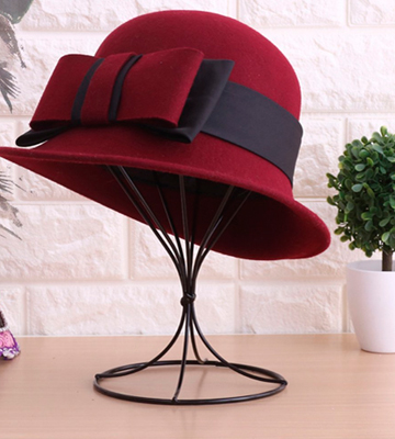 Review of Padshow Hat Rack Freestanding Wire Ball Hat Stand