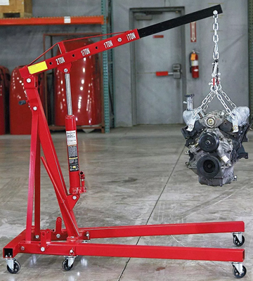 Review of Torin T32001 Engine Hoist with Foldable Frame, 2 Ton