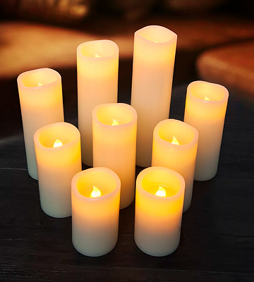 Review of Enido Pack of 12 Battery Flameless Candles Led