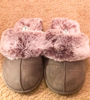 Review of Jessica Simpson Womens House Slipper Womens House Slipper