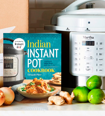 Review of Urvashi Pitre Traditional Indian Dishes Made Easy and Fast Indian Instant Pot® Cookbook