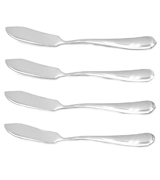 Crysto set of 4 Stainless Steel Butter Knife