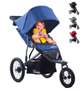 Joovy 8060 Zoom 360 Ultralight Jogging Stroller