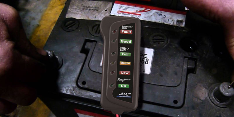 Review of Cartman Car Battery & Alternator Tester