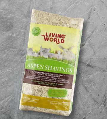 Review of Living World Natural Wood Aspen Shavings Bedding for Small Pets