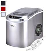 Costway Sliver Counter Top Ice Maker