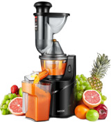 Aicok Masticating Slow Juicer 3 Big Mouth Whole