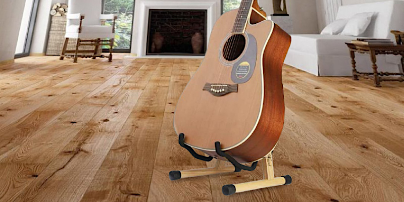 Review of SNIGJAT Wood Guitar Stand
