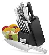 Cuisinart 15-Piece Stainless Steel Knife Set