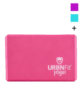 URBNFit High Density EVA Foam Yoga Block