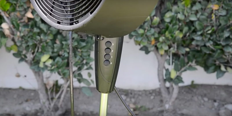 Detailed review of NewAir AF-520B Oscillating Outdoor Misting Fan