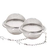 Fu Store 2pcs Stainless Steel Tea Infuser