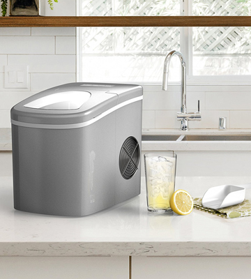 Review of hOmeLabs HME010019N Portable Ice Maker Machine