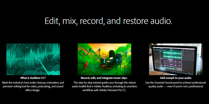 Review of Adobe Audition CC: Audio Recording, Mixing, and Restoration