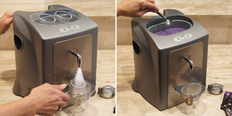 Detailed review of Gemoro 0377 UltraSpa Dual Ultrasonic and Steamer Jewelry Cleaner