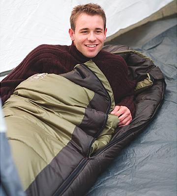 Review of Coleman North Rim Sleeping Bag