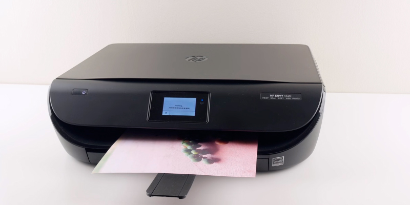 HP 4520 All-in-One Wireless Envy Color Photo Inkjet Printer application