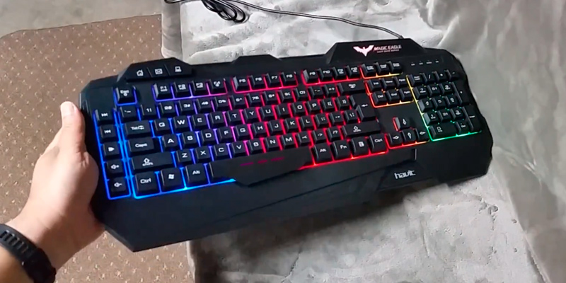 Review of Havit HV-KB558CM (5) Backlit Wired Gaming Keyboard and Mouse Combo