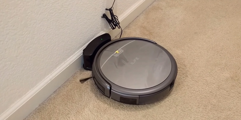 iLife A4s Robot Vacuum Cleaner in the use