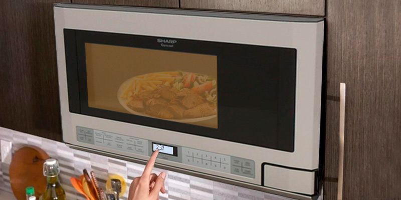 Review of Sharp R-1214 Microwave Oven