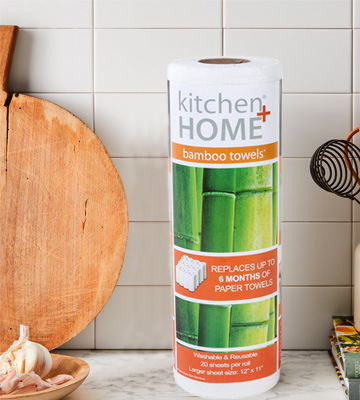 Review of Kitchen + Home Bamboo Towels Reusable Eco Friendly