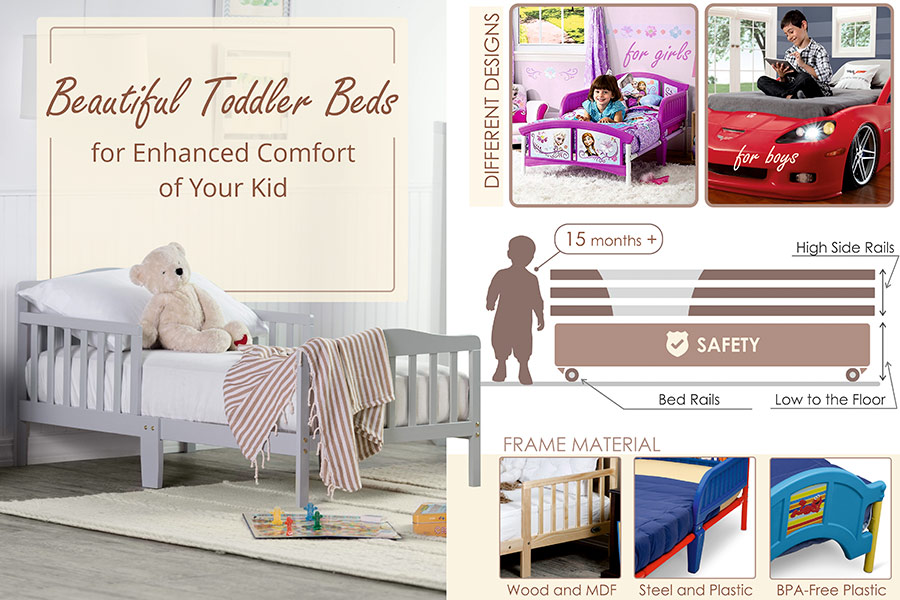 Comparison of Toddler Beds to Keep Your Tot Sleeping Safe and Sound