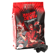 Jealous Devil 20LB All Natural Hardwood Lump Charcoal