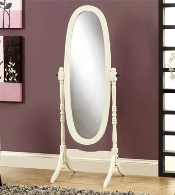 Review of Legacy Decor Full Length Wood Floor Mirror