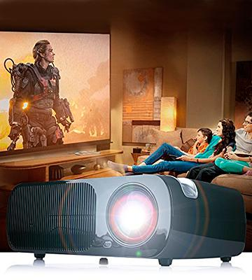 Review of iRULU BL20 Pro Android WIFI LED Projector