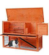 Merax Rabbit Bunny Wood Hutch