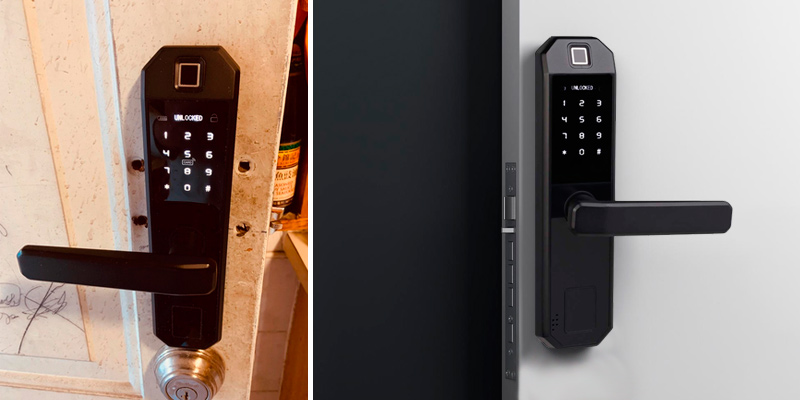 Review of SwiftFinder Fingerprint Door Lock Smart Lock Electronic Entry Lock