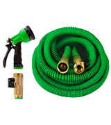 GrowGreen 82-GHB-50 Expandable Hose with All Brass Connectors