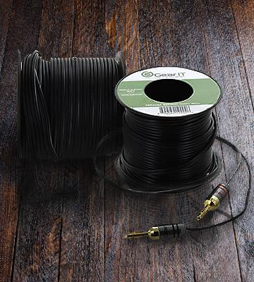 Review of GearIT GI-SPKR-14AWG-CC-100FT Professional Grade Premium