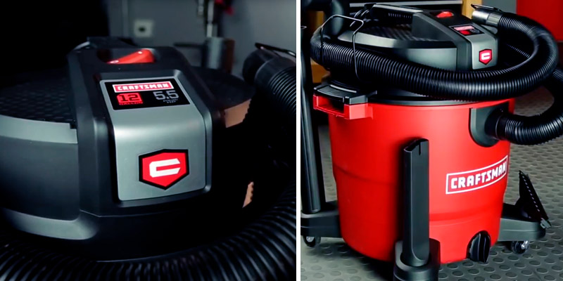Review of Craftsman 12006 XSP 12 Gallon 5.5 Peak HP Wet/Dry Vac