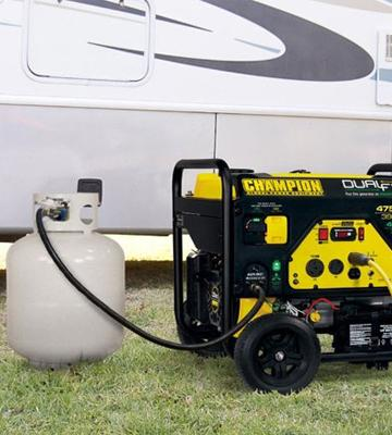 Review of Champion 76533 Portable Generator with Electric Start