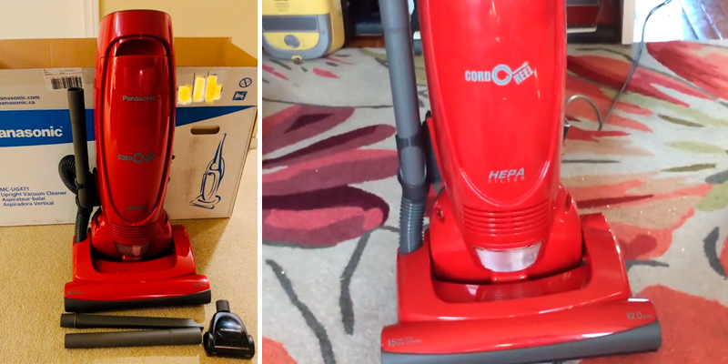 Review of Panasonic MC-UG471 Bagged Upright Vacuum Cleaner