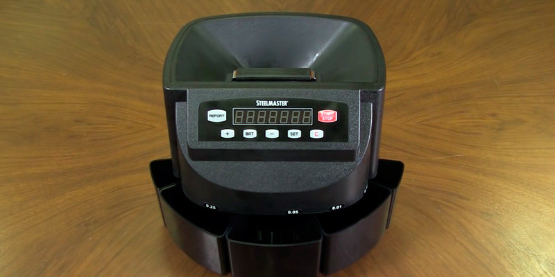 Review of Cassida C200 Coin Sorter, Counter, and Roller