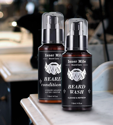 Review of Comfy Mate Wash & Conditioner Upgraded Beard Shampoo