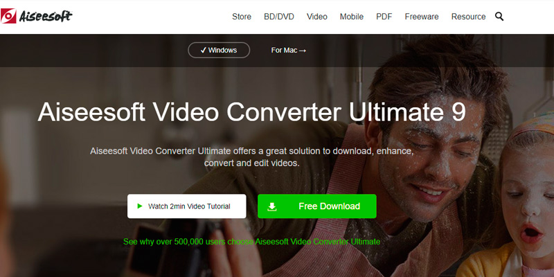 Aiseesoft Video Converter Ultimate 9 in the use