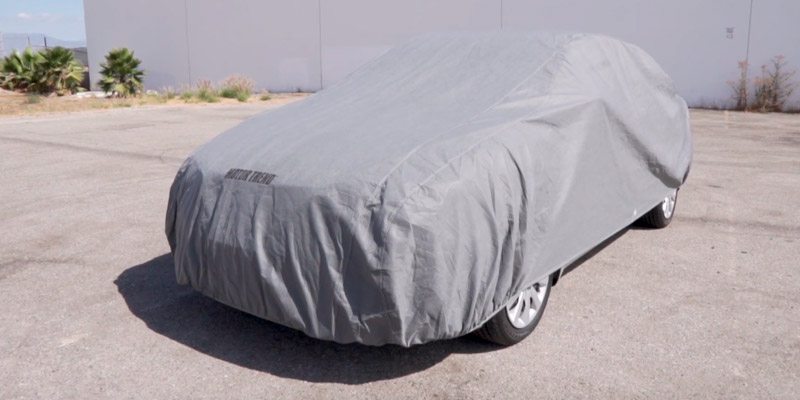 Review of Motor Trend AUTO ARMOR All Weather Proof Universal Fit Car Cover