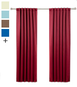 Best Home Fashion LB-DE100-44-INS-5437-SERIES-U Thermal Insulated Blackout Curtains