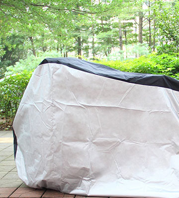 Review of Ohuhu Waterproof Outdoor Bicycle Cover for Mountain and Road Bikes