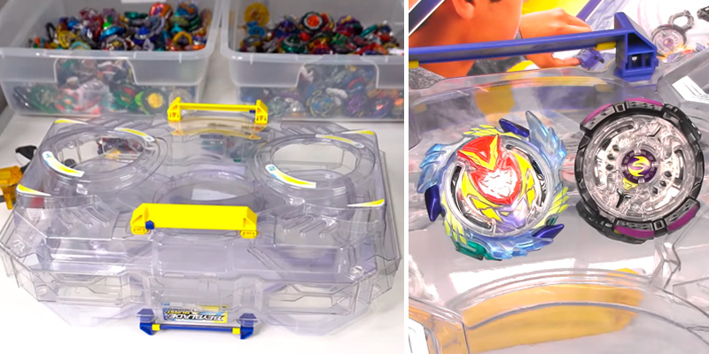 Review of Beyblade Burst Evolution Switchstrike Battle Tower