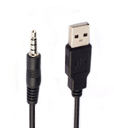 Ritz-Mart LYSB01APR8G5S USB AUX Cable