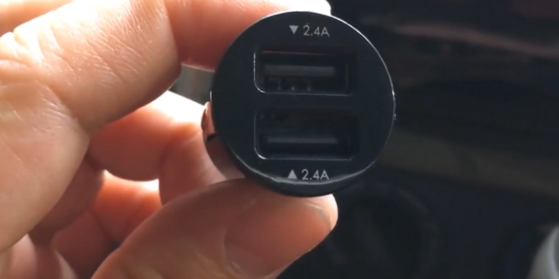 Review of Aukey CC-S1 Car Charger, Flush Fit Dual Port 4.8A Output for iPhone X/8/7/Plus, iPad Pro/Air 2/mini, Samsung Galaxy Note8/S8/S8+