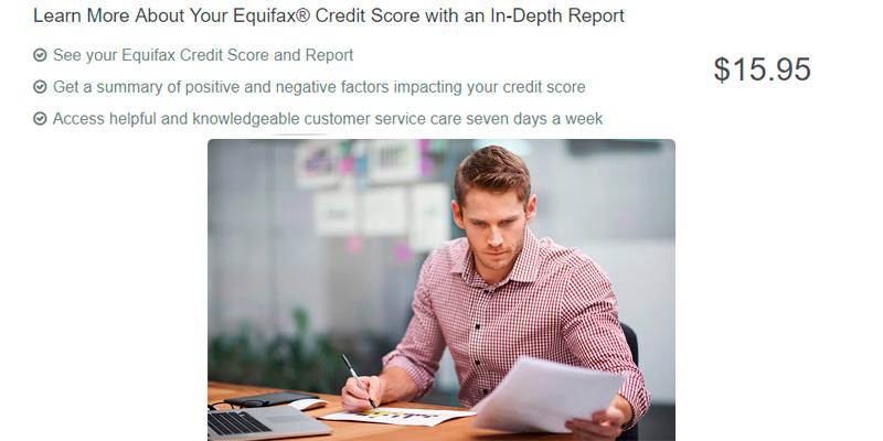 Equifax Credit Report in the use