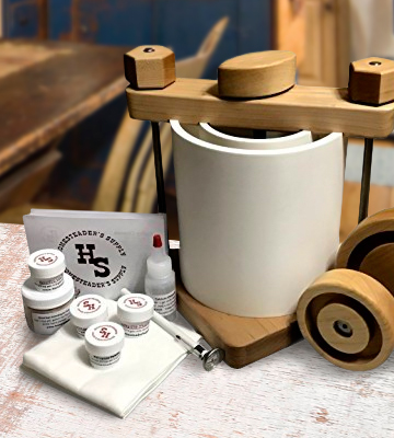 Review of Homesteader's Supply Hard Cheese Making Kit