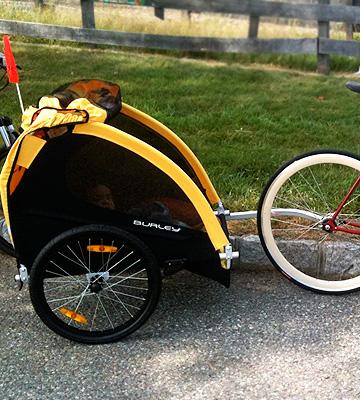 Review of Burley Design Bee Bike Trailer