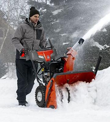 Review of Husqvarna ST224P Power Steering Snowthrower