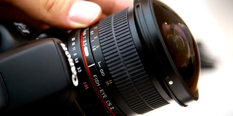 Rokinon HD8M-C 8mm f/3.5 HD Fisheye Lens in the use